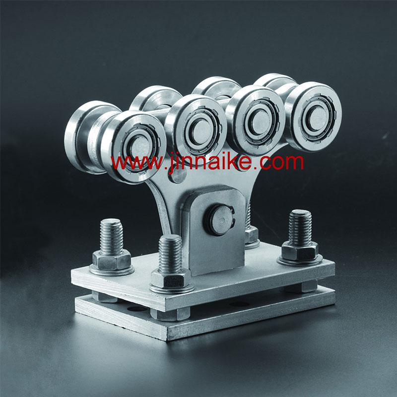 Ролик каретки регулируемой консольной заслонки (8 маленьких колес и 8 средних колес)