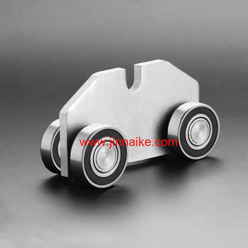 Роликовые каретки с консольными воротами (4 колеса)