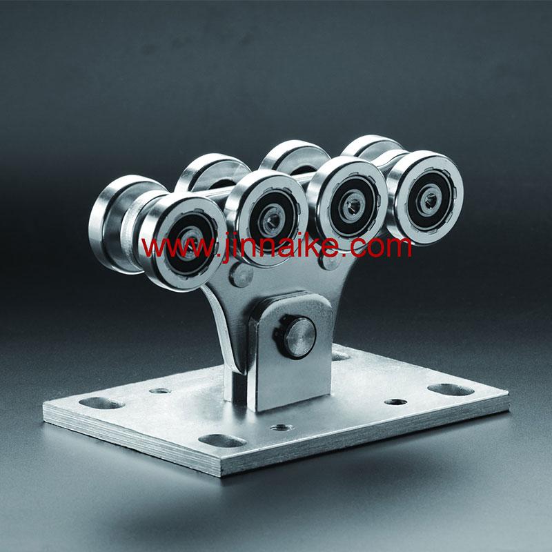 Ролик для каретки с консольными воротами (8 маленьких колес)