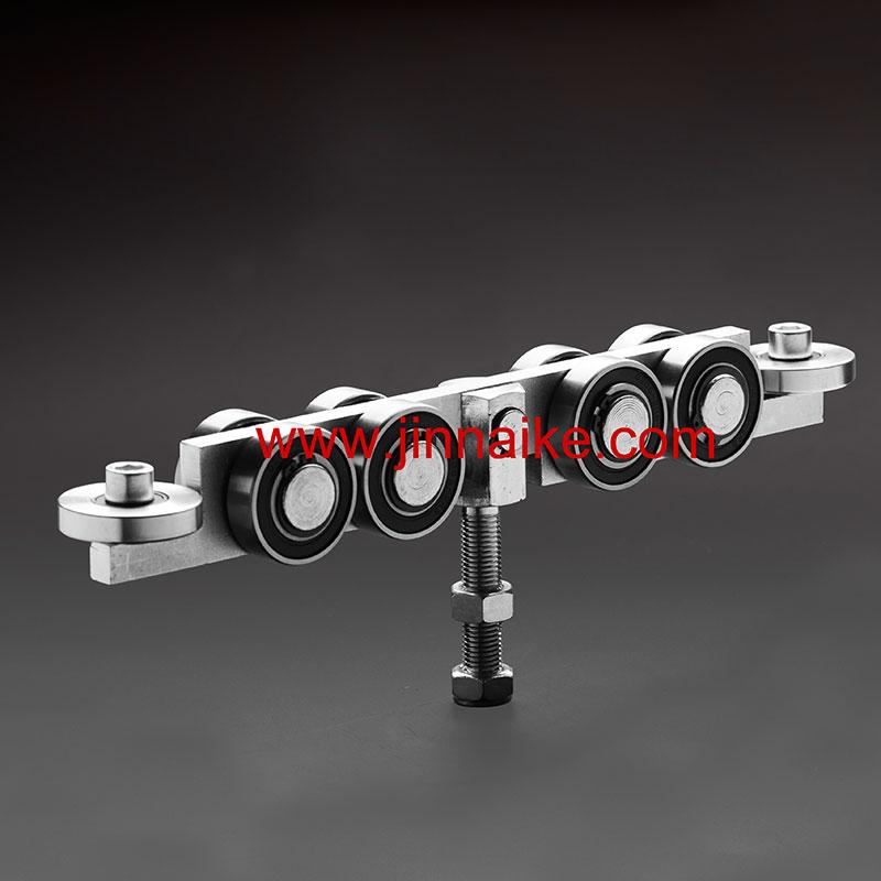 Тележка направляющих для внутренних раздвижных ворот (10 колес)