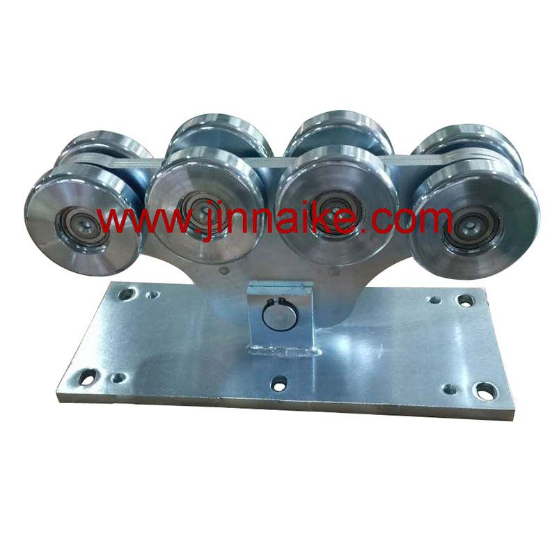 Ролик каретки консольных ворот (8 больших колес)