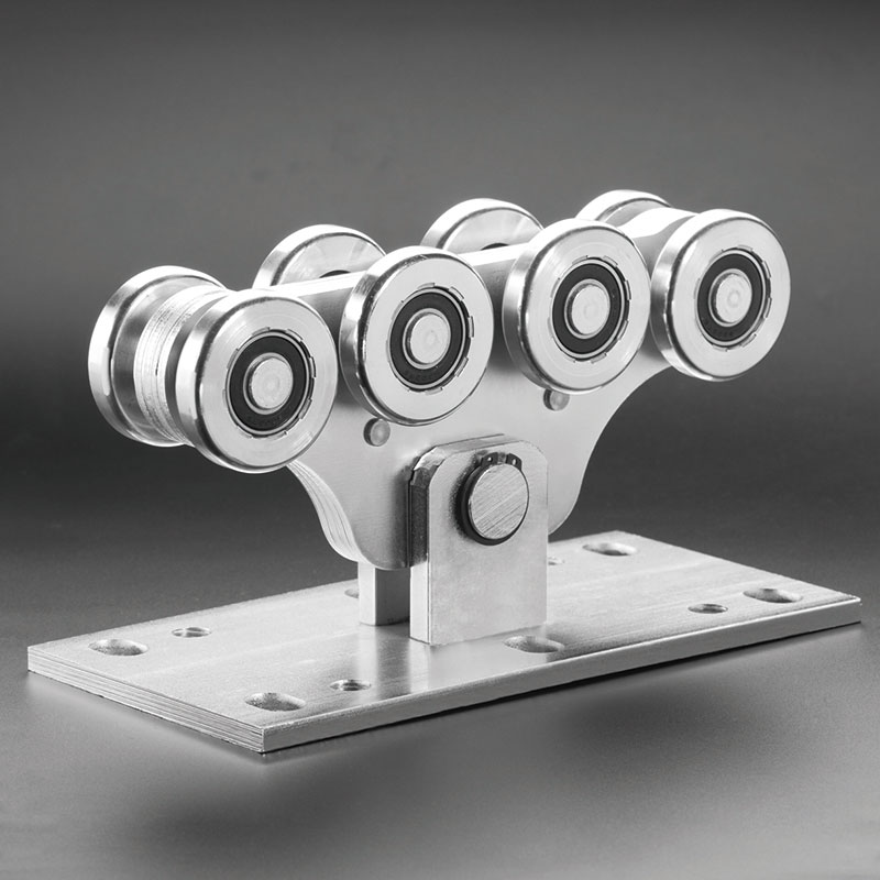 Каретка с консольными воротами (8 средних колес)