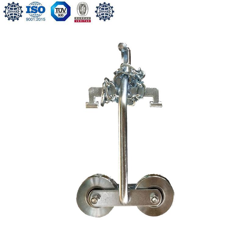 Ролик для подвешивания двери (с цепями, двойными подшипниками)